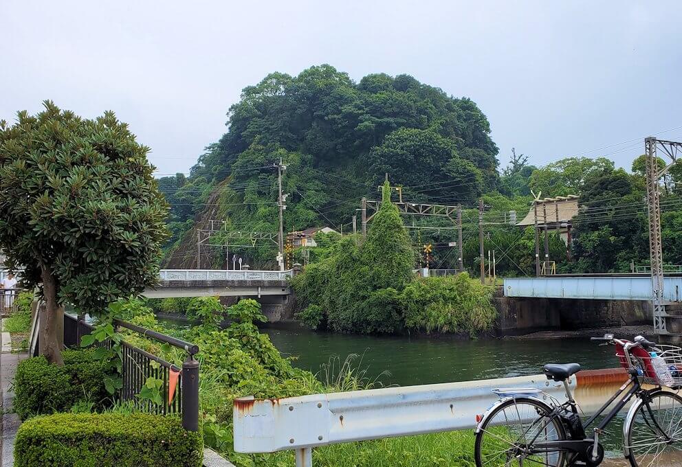 福昌寺跡から多賀城へ向かう1