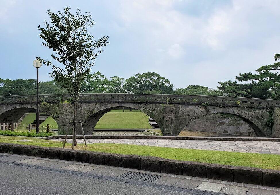 福昌寺跡から多賀城へ向かう途中にあった石橋記念公園