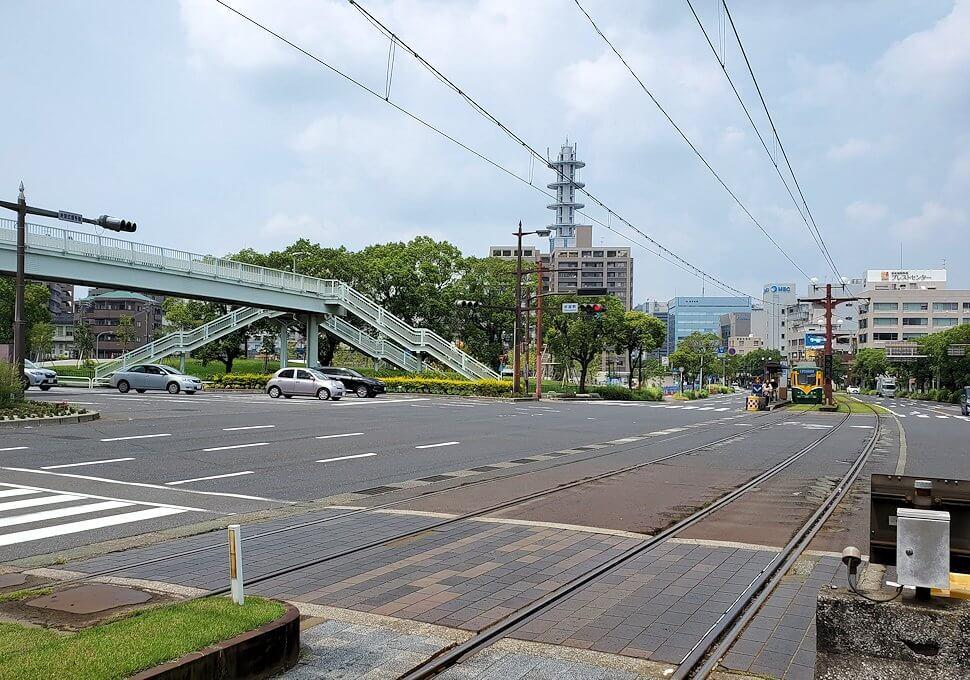 鹿児島市内の新屋敷駅