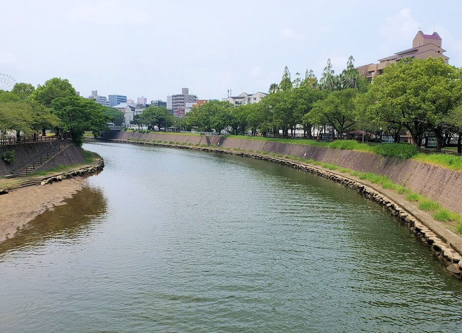 鹿児島市内の甲突川