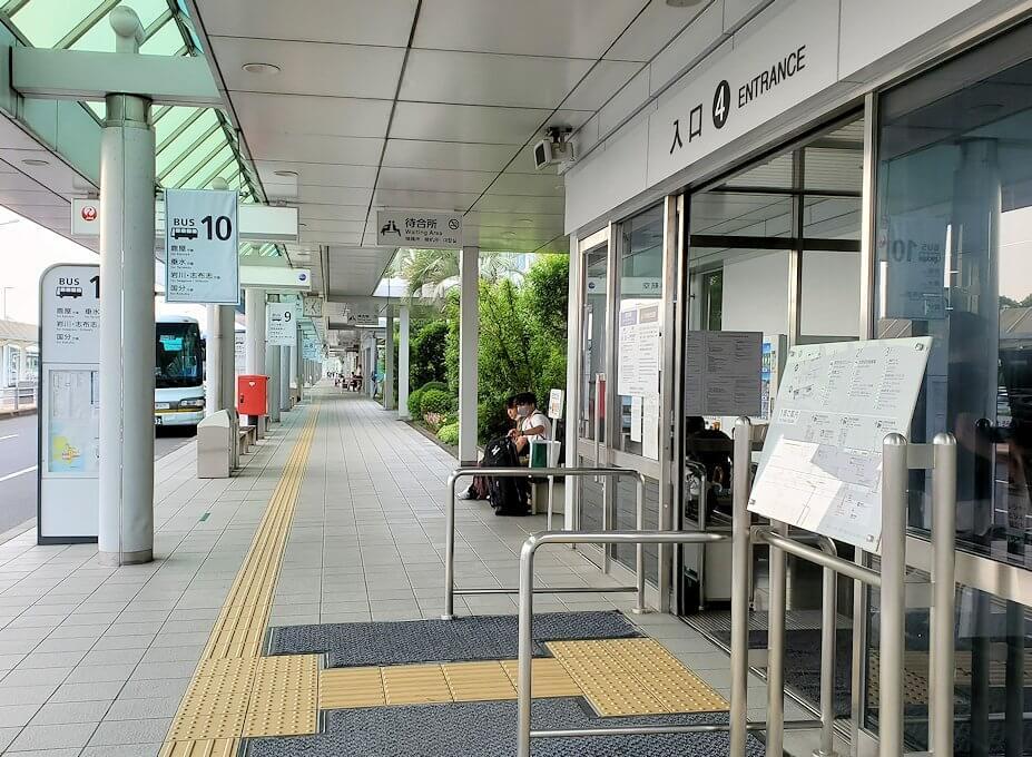 鹿児島空港の玄関