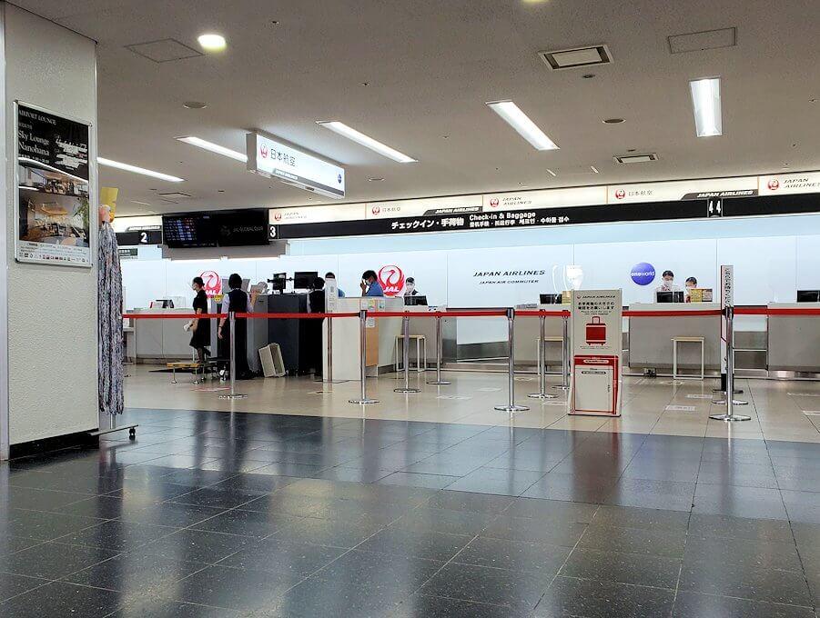鹿児島空港のロビー