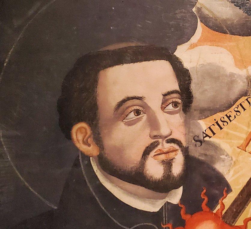 フランシスコ・ザビエルの肖像画で一番有名な絵