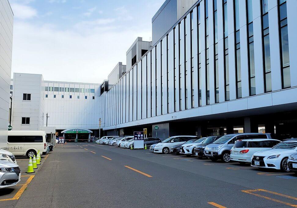 新千歳空港の駐車場