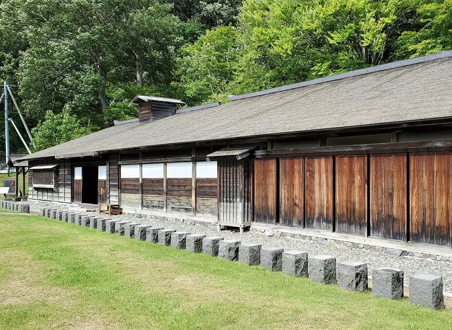 旧島松駅逓所の建物