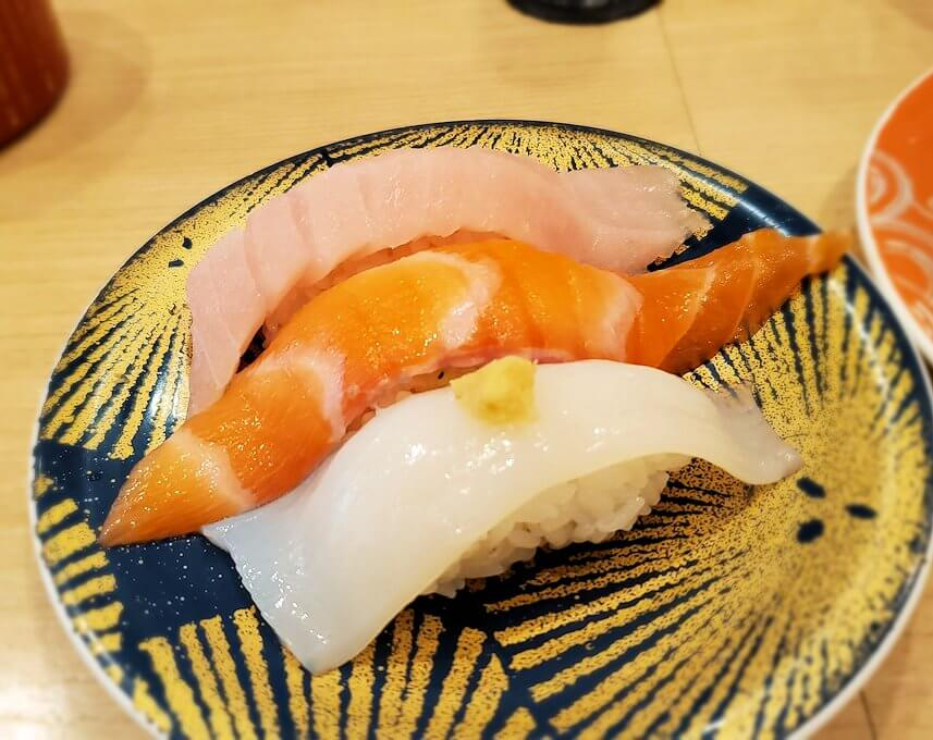 「回転寿しトリトン:清田店」で食べる寿司