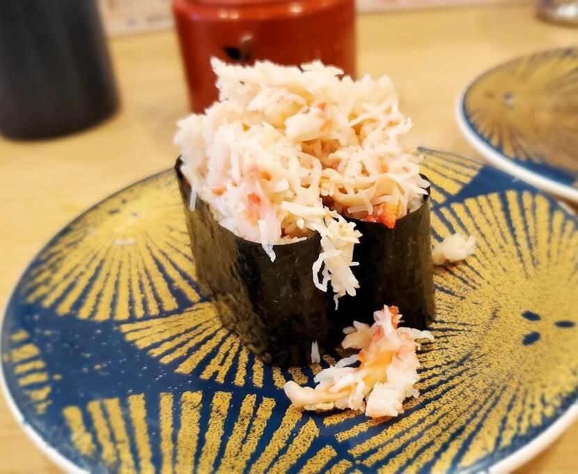 「回転寿しトリトン:清田店」で食べる寿司1