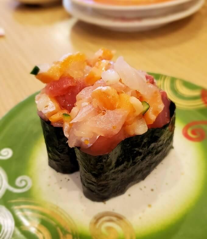 「回転寿しトリトン:清田店」で食べる寿司3