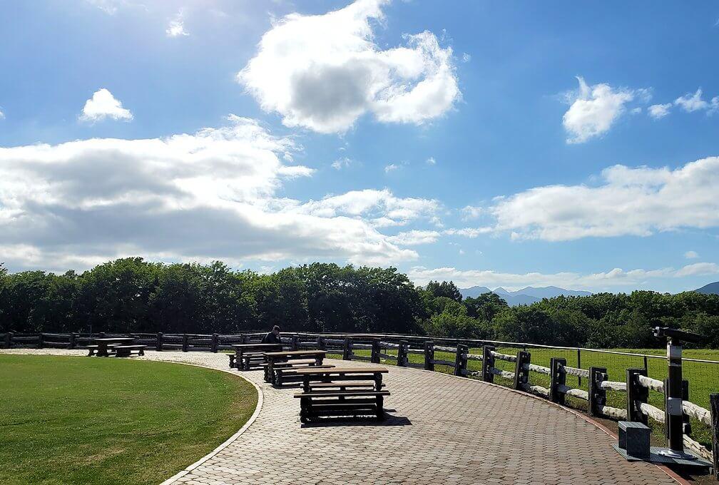 「さっぽろ羊ヶ丘展望台」の景色