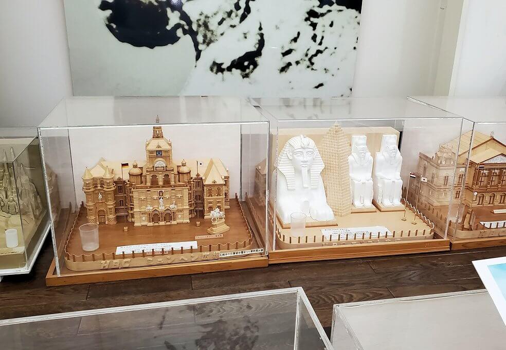 さっぽろ羊ヶ丘展望台にある「さっぽろ雪まつり資料館」内に展示されていた模型2