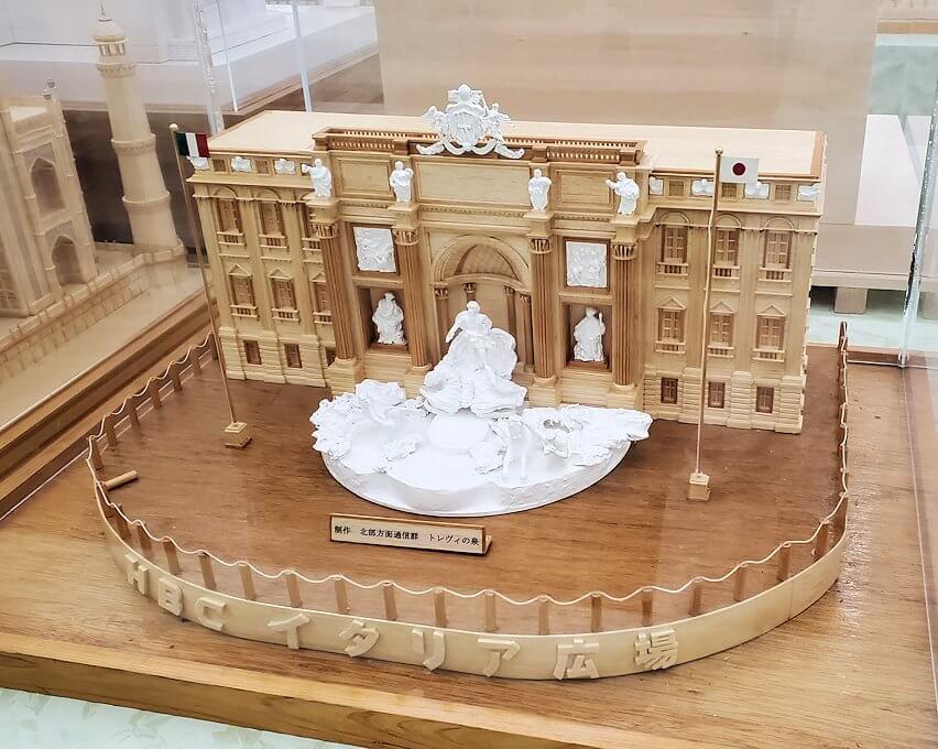 さっぽろ羊ヶ丘展望台にある「さっぽろ雪まつり資料館」内に展示されていた模型6
