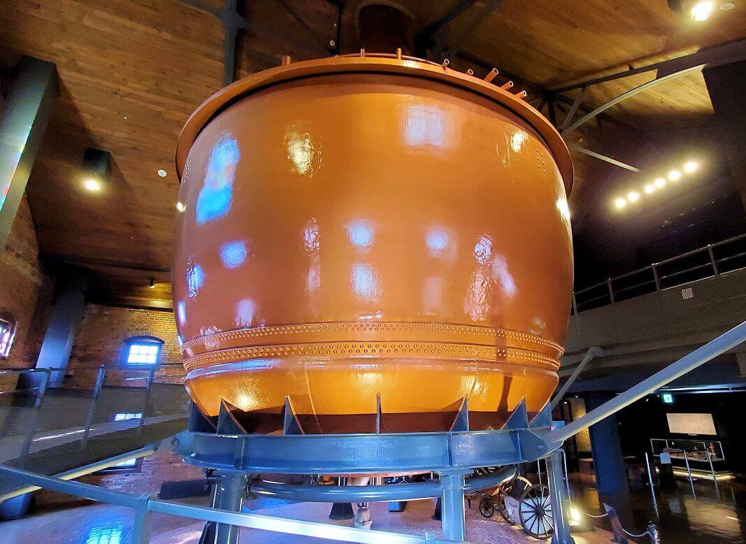 「サッポロビール園」内のビール貯蔵タンク1