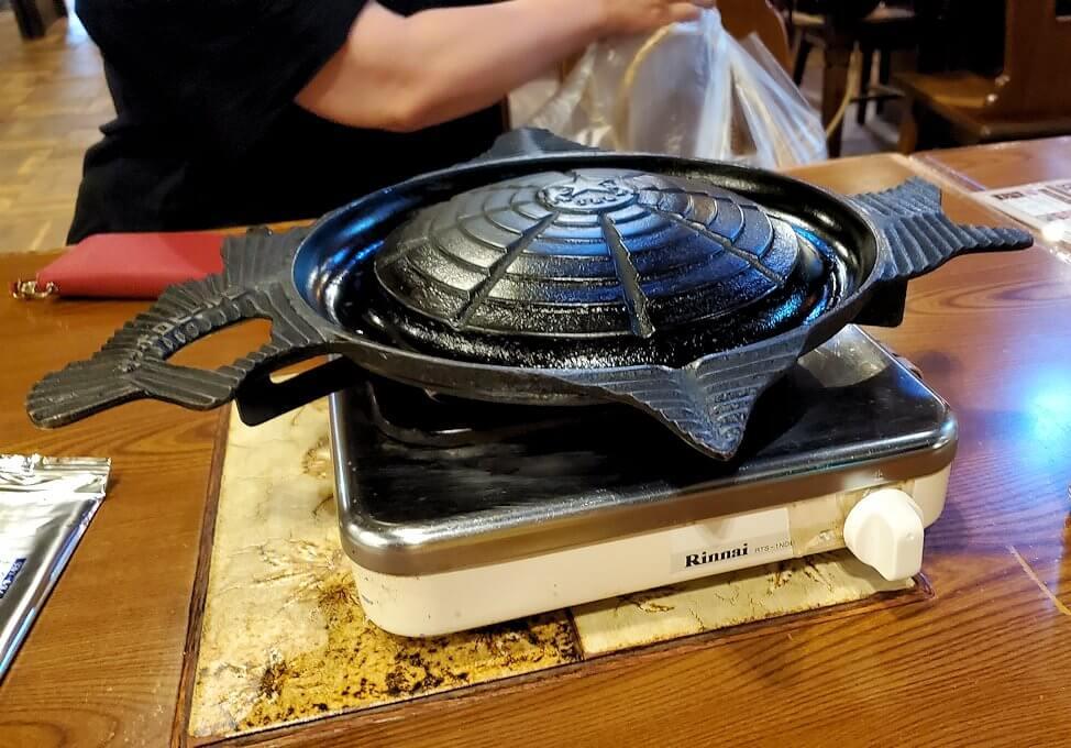 「サッポロビール園」で提供される鍋