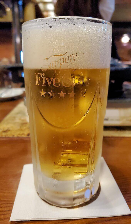 「サッポロビール園」で飲むサッポロビール