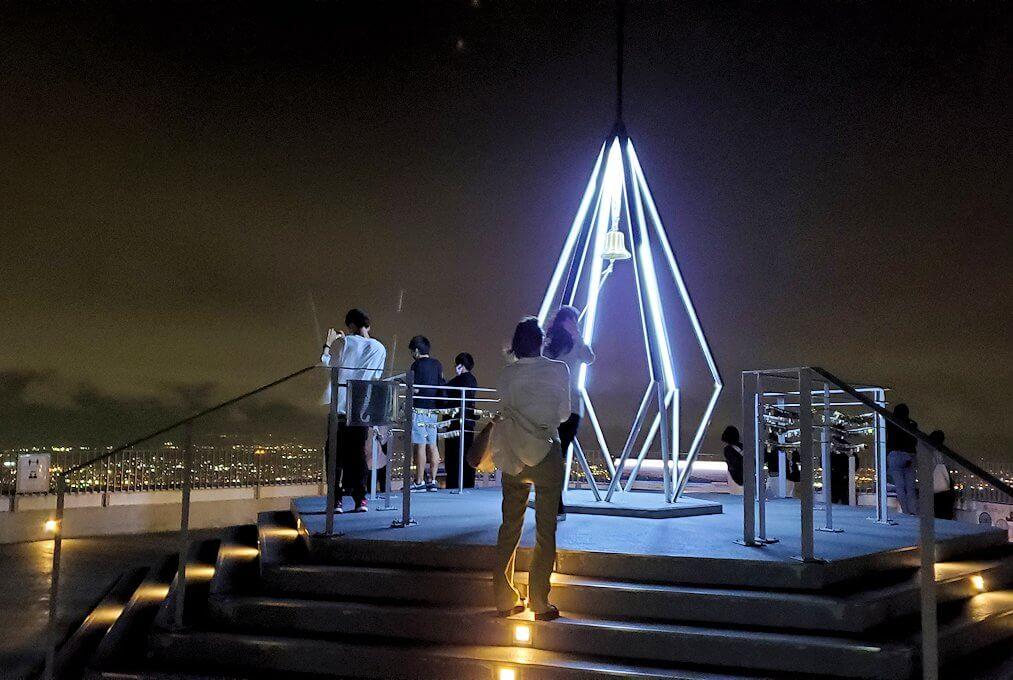 「藻岩山展望台」から眺める札幌の夜景4