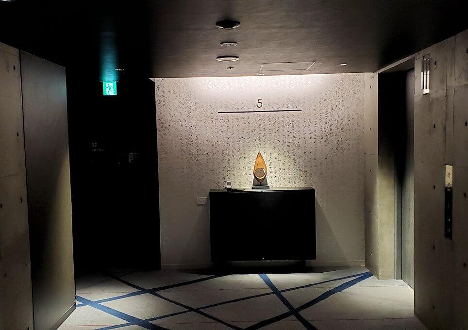 「JR東日本ホテルメッツ札幌」のエレベーターホール