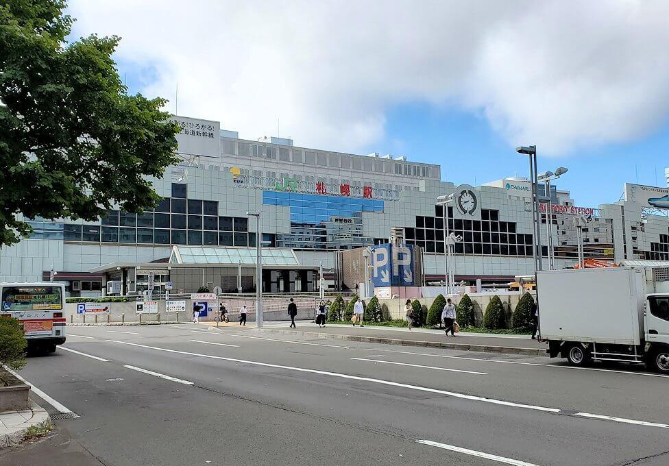 札幌駅北口の景色
