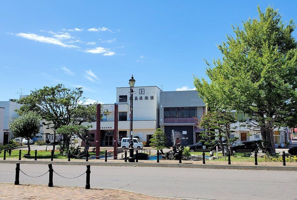 余市町の中心部