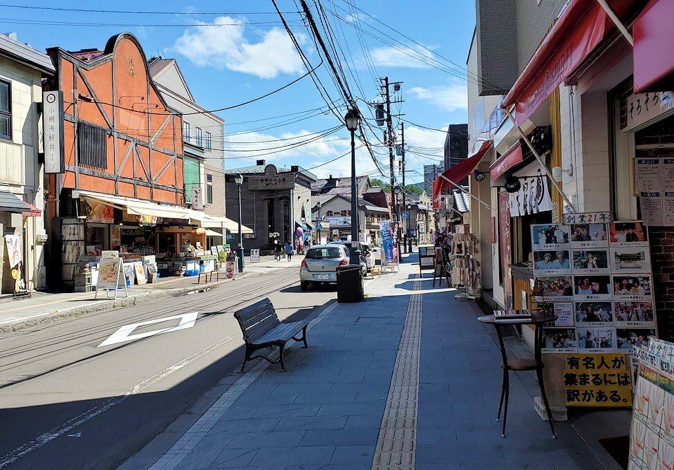 小樽の街を散策している時に見えた建造物1