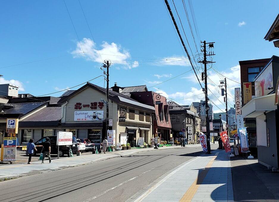 小樽の街を散策している時に見えた建造物2