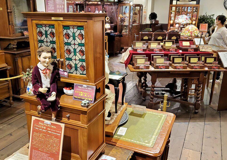 「小樽オルゴール堂:2号館」店内の景色
