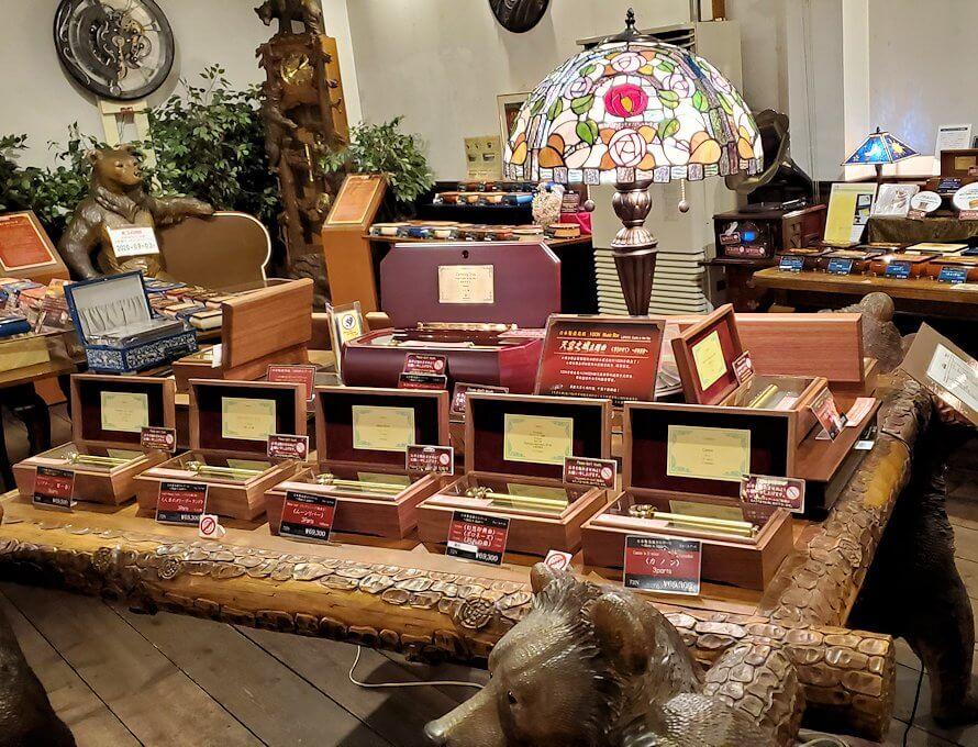 「小樽オルゴール堂:2号館」店内の景色1