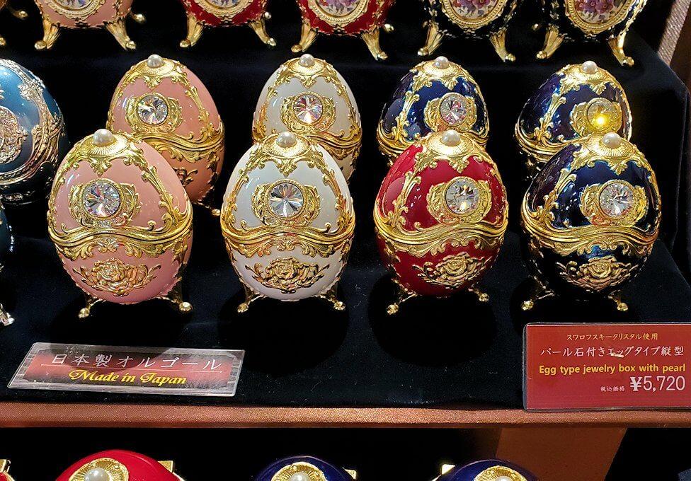 「小樽オルゴール堂:2号館」で販売されているオルゴール5