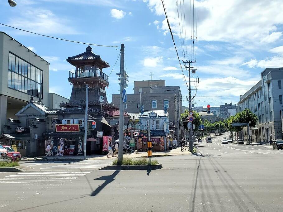 小樽の街を散策
