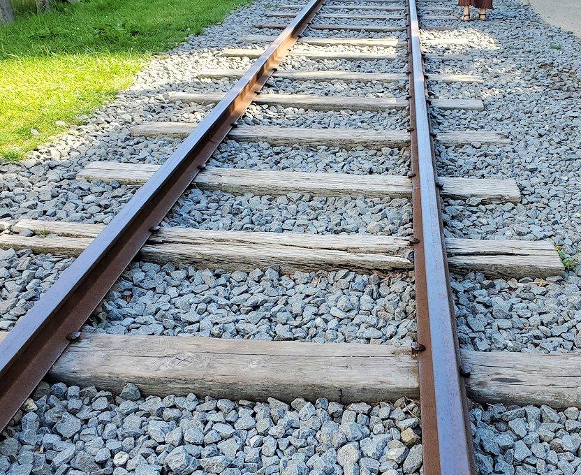 小樽の街にあった、旧手宮線の線路跡3