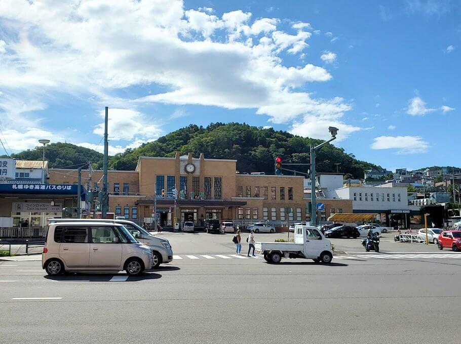 小樽駅のある交差点