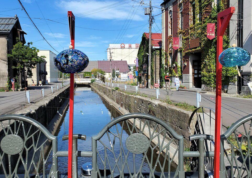 小樽の街にある、細い運河1