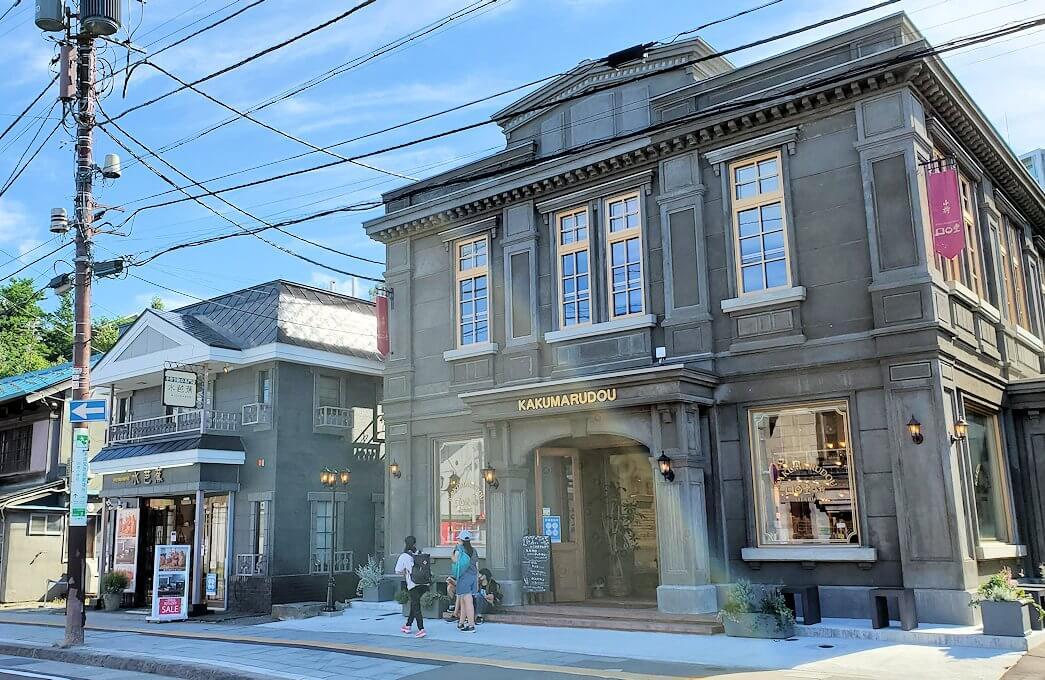 小樽の街にある、歴史的建造物
