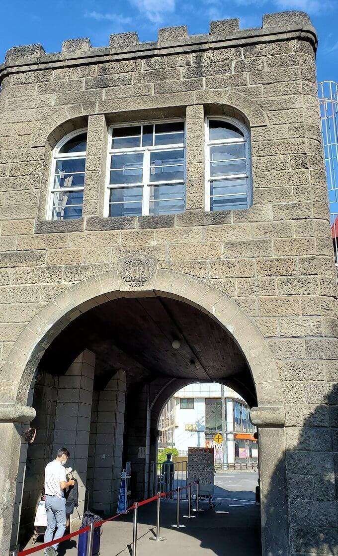 ニッカウヰスキー余市蒸溜所の入口