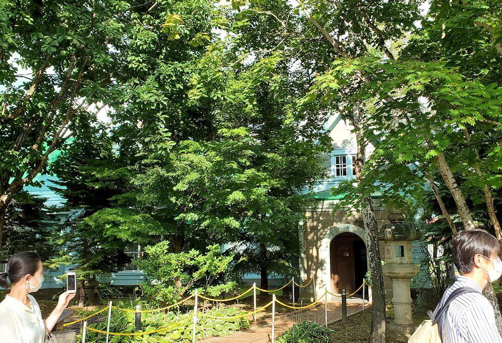 ニッカウヰスキー余市蒸留所内にある、旧竹鶴邸