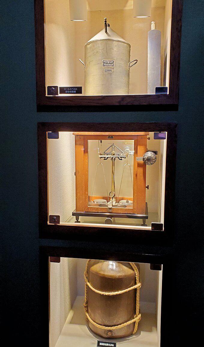 余市町のウイスキー博物館内にあった、蒸留所の模型1