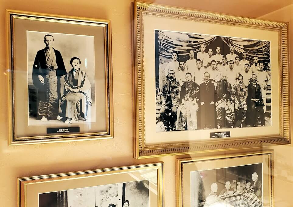 ウイスキー博物館に展示されている竹鶴政孝氏関連の品々2