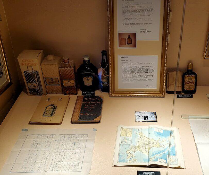 ウイスキー博物館に展示されている竹鶴政孝氏関連の品々7