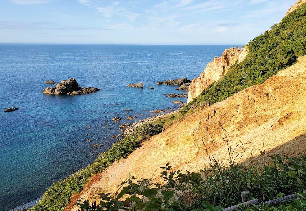 積丹半島の北端にある「島武意海岸」の景色1