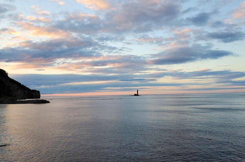 積丹半島の海岸の景色1