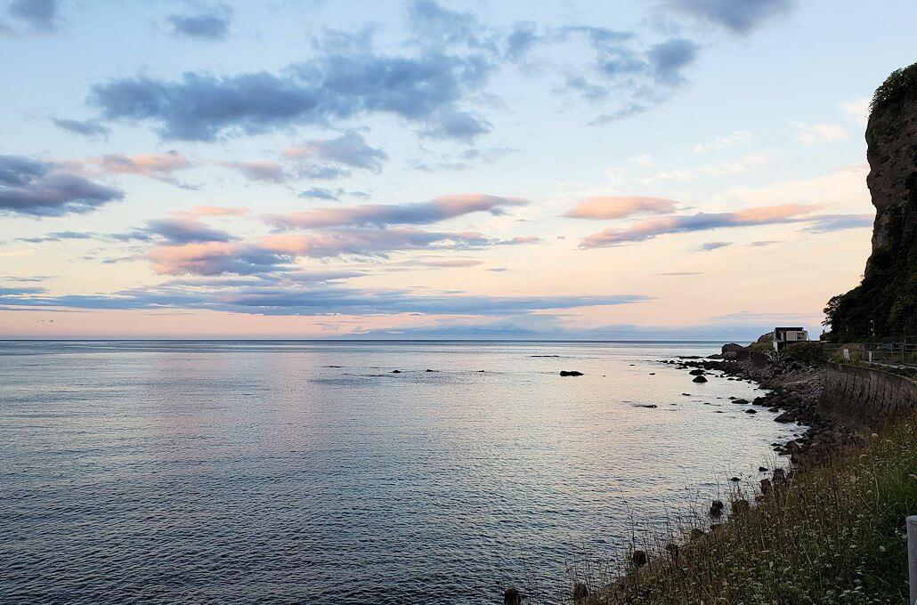 積丹半島の海岸の景色2