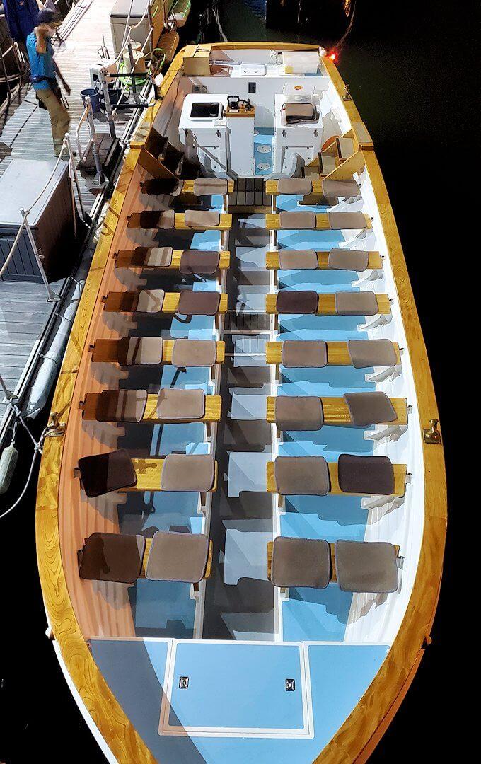 小樽の夜景観光用の遊覧船