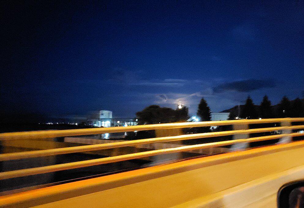 小樽から札幌へ向かう