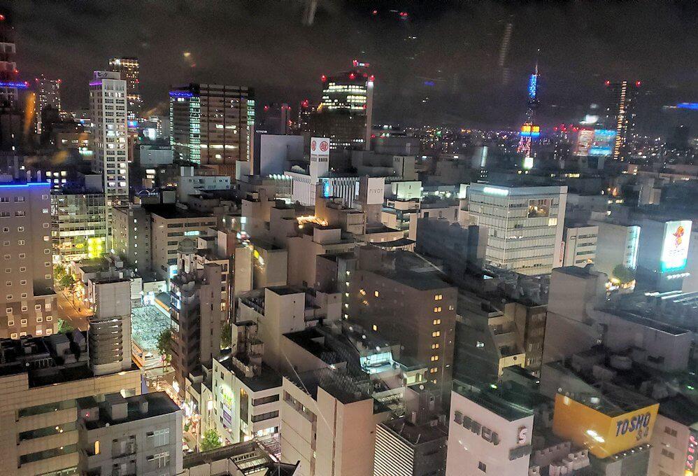 札幌市内にあるノルベサという商業施設にある観覧車に乗り込で見える景色6