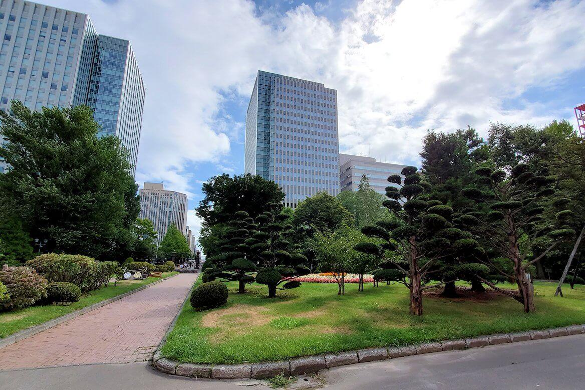 北海道庁の周囲の景色