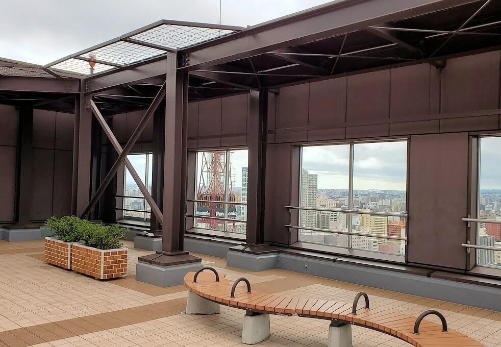 札幌市役所の展望台から眺める3
