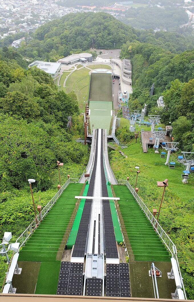 大倉山ジャンプ競技場の頂上の景色3