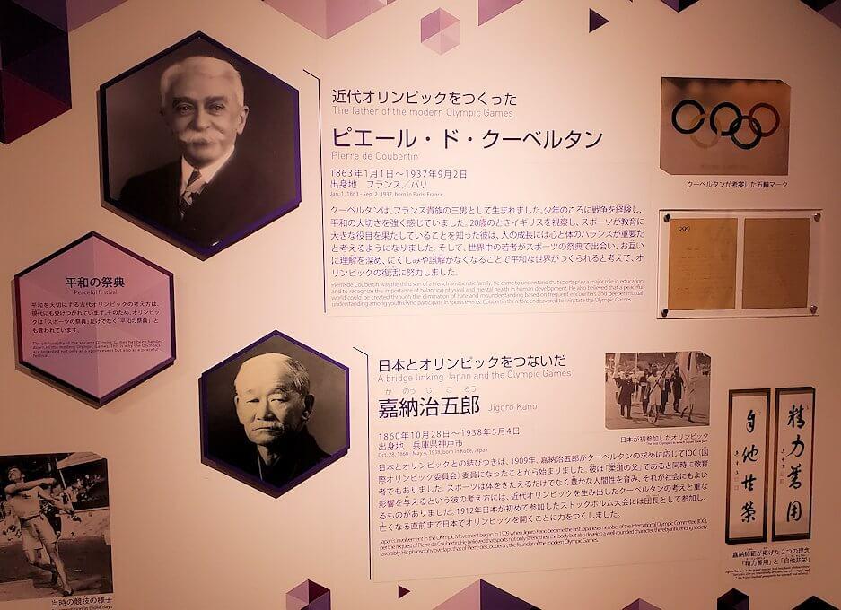 札幌オリンピックミュージアムで、オリンピック歴史を勉強