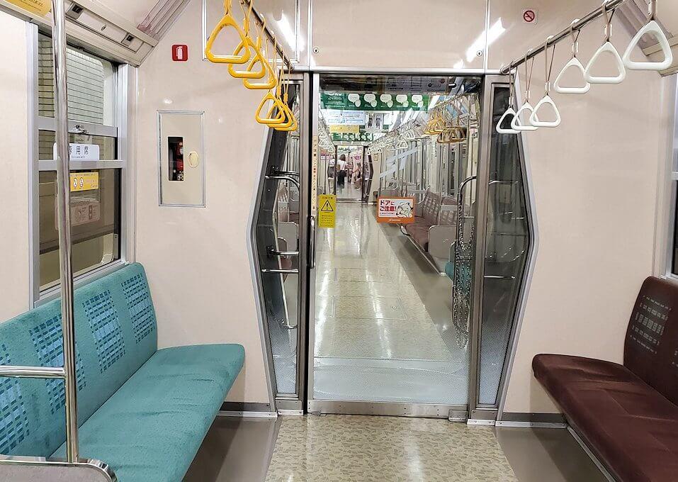 「宮の沢駅」まで地下鉄で向かう1