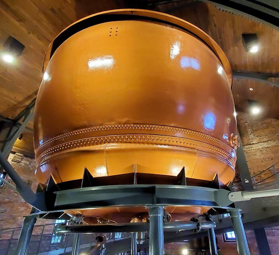 サッポロビール園博物館の煮沸釜
