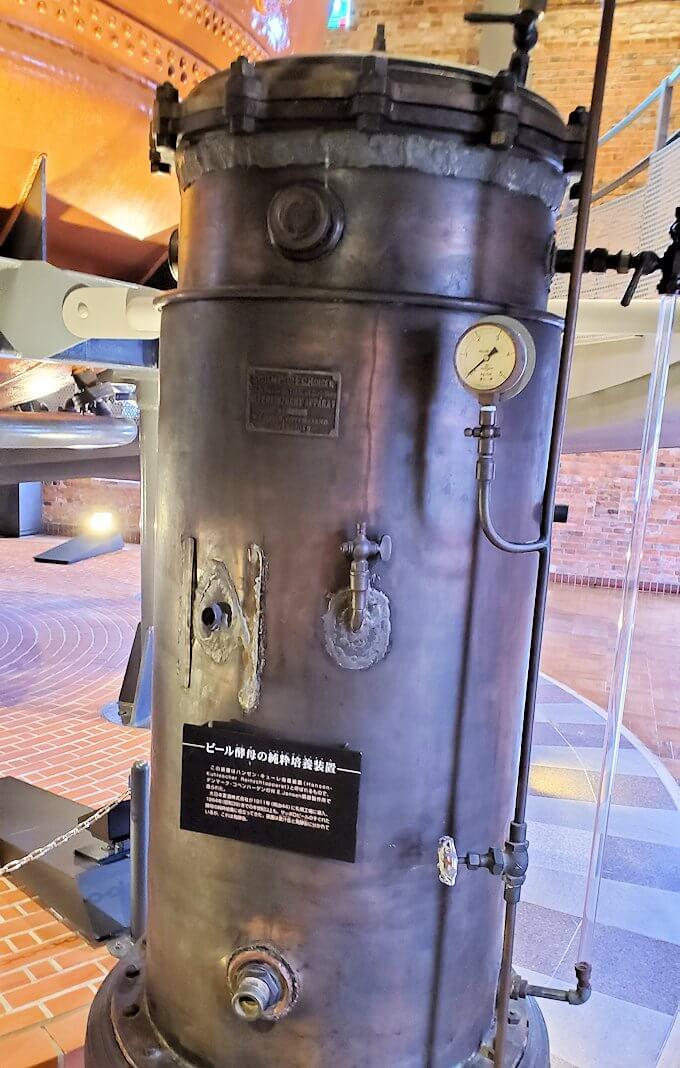 サッポロビール園博物館の煮沸釜1